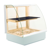 Heated Display Cases with Dry Heat